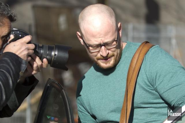 Le blogueur Gab Roy lors de sa sortie... (PHOTO OLIVIER JEAN, ARCHIVES LA PRESSE)