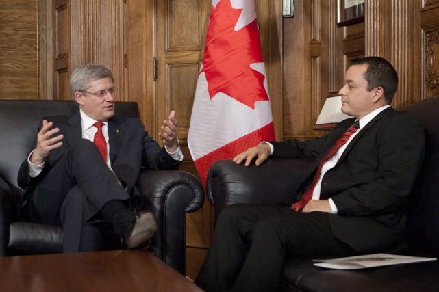 Le président de l'Assemblée des Premières Nations, Shawn... (Photo Adrian Wyld, archives PC)