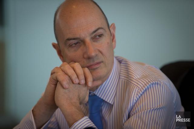 Roland Lescure, chef des placements à laCaissede dépôt,... (Photo André Pichette, La Presse)