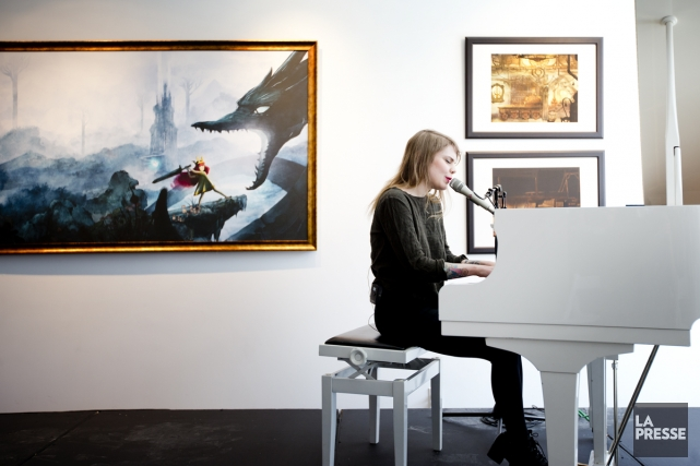 Coeur de pirate a écrit la musique du... (Photo: Marco Campanozzi, La Presse)
