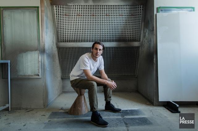 Mischa Couvrette, fondateur d'hollis+morris.... (PHOTO EDOUARD PLANTE-FRÉCHETTE, LA PRESSE)