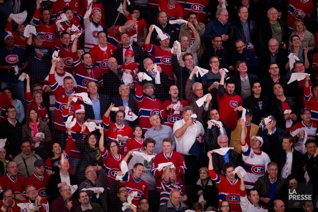 Montréal a la réputation d'avoir les fans les... (Photo André Pichette, La Presse)