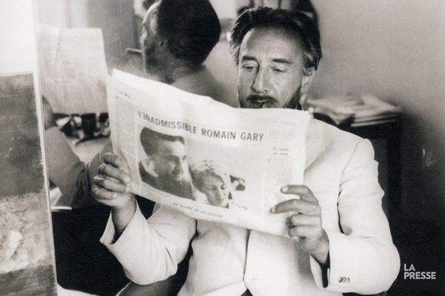Romain Gary... (PHOTO TIRÉE DU LIVRE LECTURES DE ROMAIN GARY)