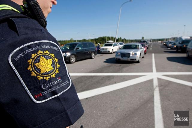 La police canadienne des frontières a annoncé lundi le lancement d'une campagne... (Photo archives, La Presse)