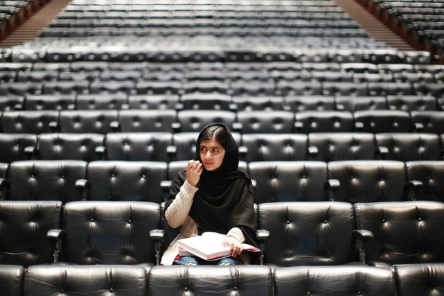Malala Yousafzai, à Londres, le 20 octobre 2013.... (PHOTO OLIVIA HARRIS, ARCHIVES REUTERS)
