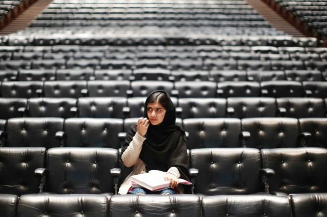 Malala Yousafzai, à Londres, le 20 octobre 2013.... (PHOTO OLIVIA HARRIS, ARCHIVES REUTERS)