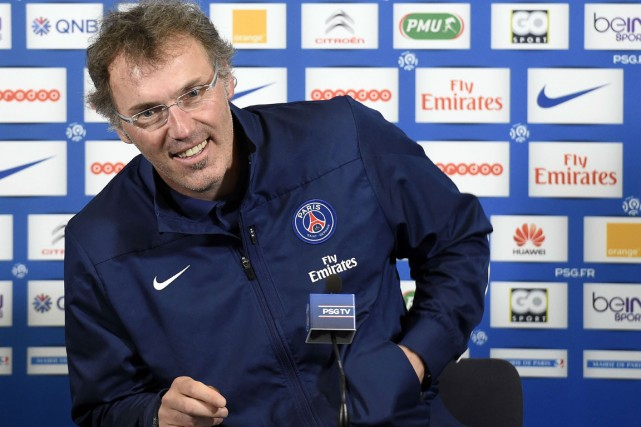 L'entraîneur du Paris Saint-Germain, Laurent Blanc.... (Photo Franck Fife, AFP)