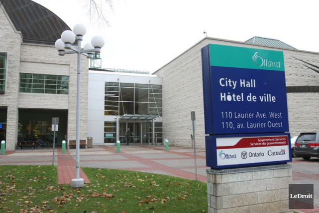 Les événements du jour à la Ville d'Ottawa, en quelques mots. (Patrick Woodbury, Archives, LeDroit)