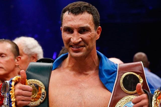 Vladimir Klitschko... (Photo Kai Plaffenbach, archives Reuters)