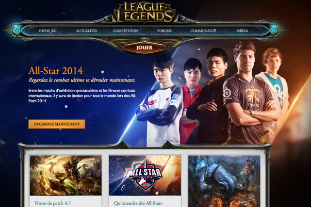 Riot Games a décidé cette année d'organiser à... (Photo tirée du site web)