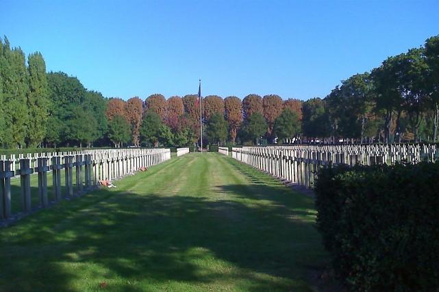 Division militaire des soldats français tombés pendant la... (Photo Wikimedia)
