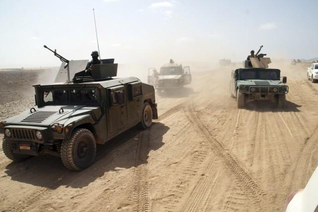 Depuis le début de l'offensive militaire dans le... (Photo Reuters)