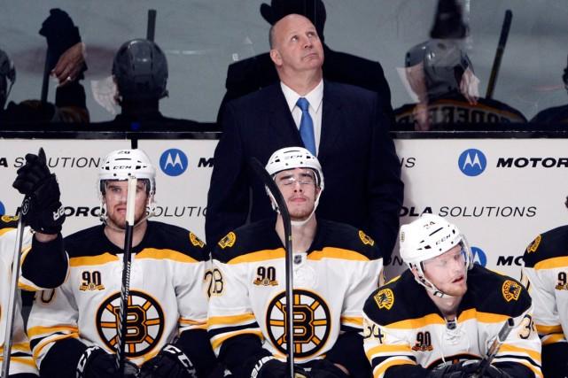 L'entraîneur des Bruins Claude Julien a chamboulé les... (Photo Ryan Remiorz, PC)