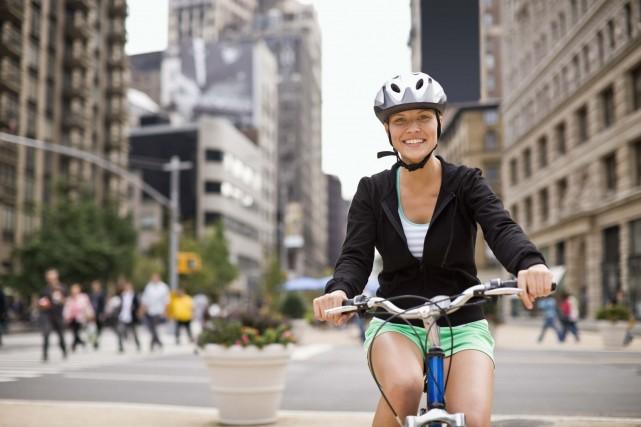 786 000 Américains empruntaient leur vélo pour aller... (Photo Digital/Thinkstock)
