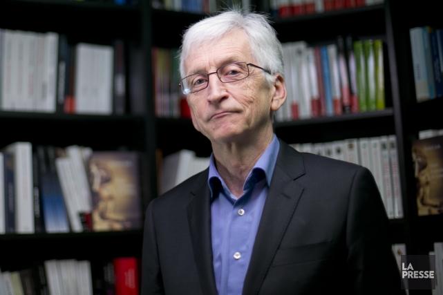 L'auteur belge Armel Job livre une puissante réflexion... (Photo: David Boily, La Presse)