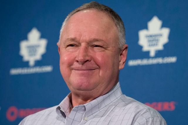 L'entraîneur-chef des Maple Leafs de Toronto, Randy Carlyle.... (Photo Darren Calabrese, PC)