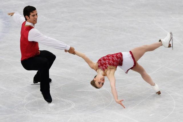 Rudi Swiegers et Paige Lawrence... (Photo Toru Hanai, Reuters)