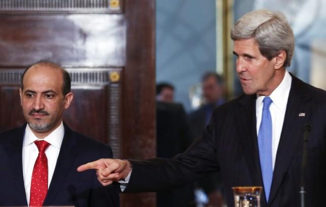 S'exprimant en arabe et traduit en anglais, M.... (Photo Reuters)