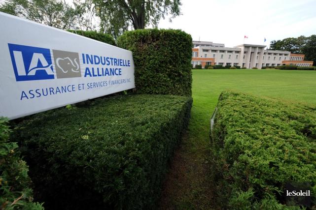Le siège social de l'Industrielle Alliance à Québec... (Photothèque Le Soleil)