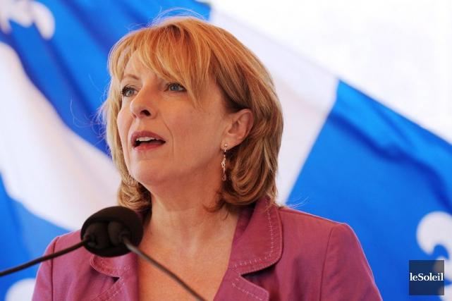 La nouvelle ministre des Relations internationales Christine St-Pierre... (PHOTO ARCHIVES LE SOLEIL)