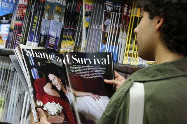 Mardi, Vanity Fair a publié des extraits d'un... (Photo Eduardo Munoz, Reuters)