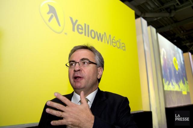 Julien Billot, PDG de Yellow Média.... (Photo Alain Roberge, La Presse)