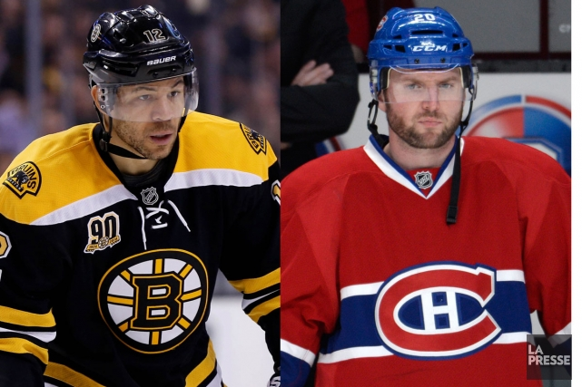 Jarome Iginla et Thomas Vanek... (Photos USA Today et La Presse)