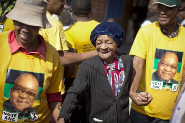 Pour l'ANC, ce succès va lui donner de... (PHOTO BEN CURTIS, ARCHIVES AP)