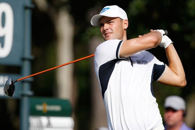Martin Kaymer est devenu le quatrième golfeur seulement... (Photo Geoff Burke, USA Today)