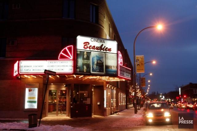 Le cinéma Beaubien pourra dorénavant présenter dans ses salles des films qui... (Photo: archives La Presse)