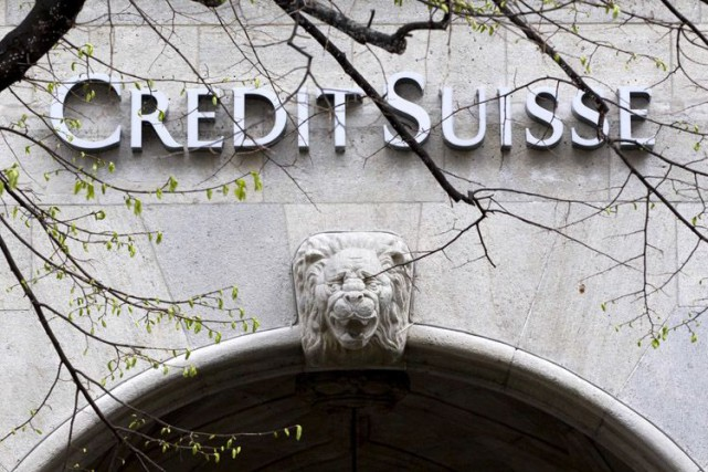 Les dirigeants de Credit Suisse ont dit vouloir «tout mettre en oeuvre» pour... (Photo Archives AP)