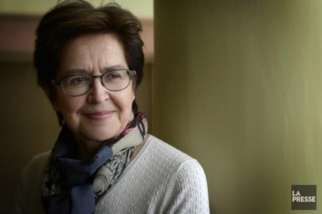 Lorraine Vaillancourt porte depuis 25 ans son orchestre... (Photo: Bernard Brault, La Presse)