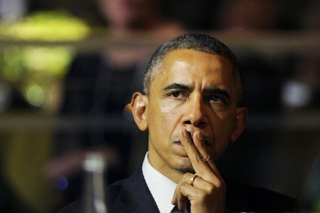 À Wolfe, Barack Obama, est une figure honnie.... (PHOTO SUSAN WALSH, AP)