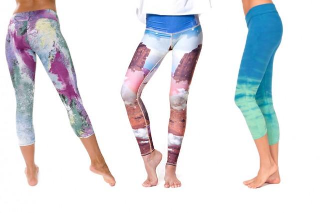 Legging Onzie, 56$ US, Modèle Unicorn Wrangler Hot... (Photos fournies par les fabricants)