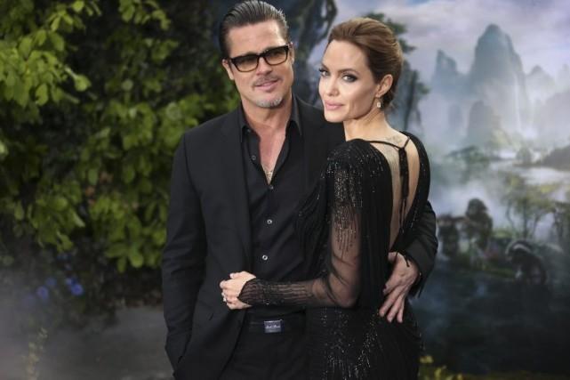 Brad Pitt et Angelina Jolie à la première... (Photo: AP)