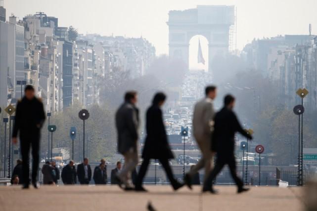 La municipalité de Paris souhaite mettre en place... (PHOTO CHARLES PLATIAU, REUTERS)