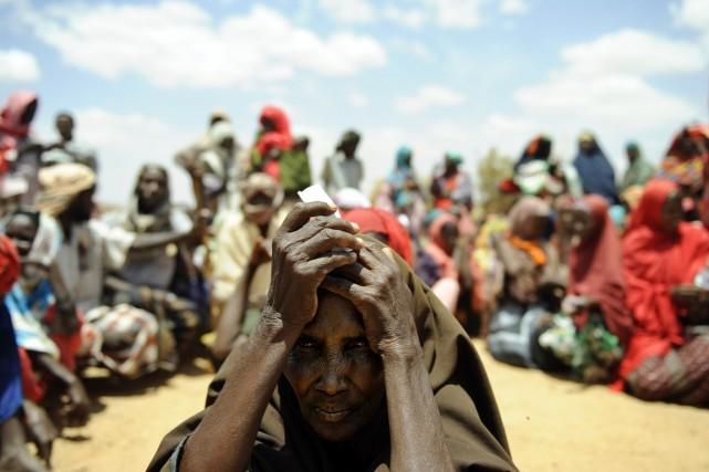 La Somalie a été le pays le plus... (PHOTO TONY KARUMBA, ARCHIVES AFP)