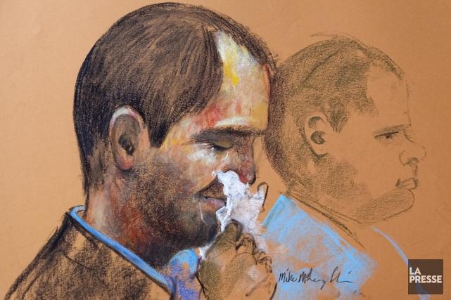 Guy Turcotte lors de son procès.... (Archives, La Presse)