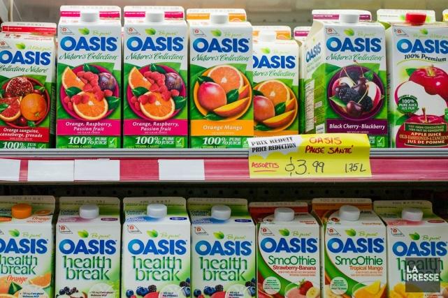 Les ventes de Lassonde ont avancé de 1,5... (PHOTO ÉDOUARD PLANTE-FRÉCHETTE, ARCHIVES LA PRESSE)
