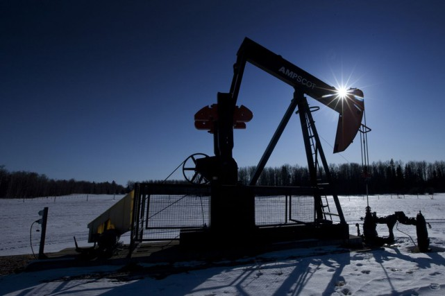 Le baril de «light sweet crude» (WTI) pour... (Photo Norm Betts, Archives Bloomberg)