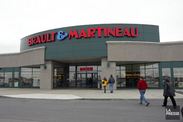 Le Groupe BMTC exploite les magasins Brault &... (Photo André Pichette, Archives La Presse)