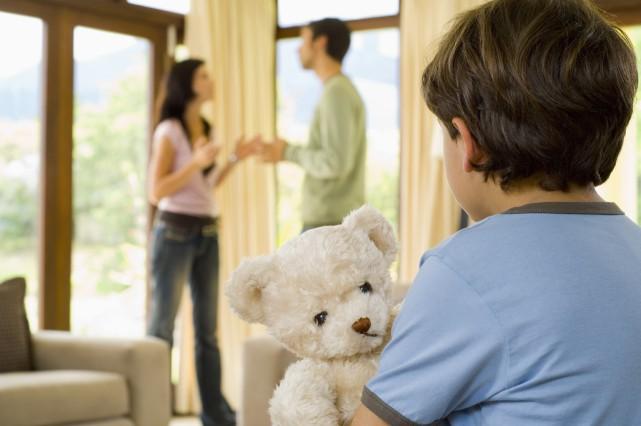 Le syndrome d'aliénation parentale (SAP) décrit le comportement... (Photo Thinkstock)