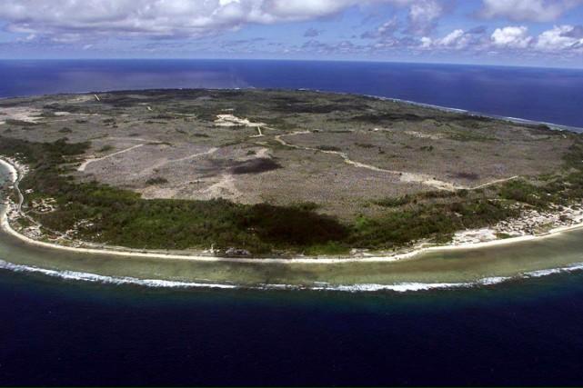 L'île deNauru... (Photo Torsten Blackwood, AFP)