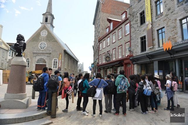 Québec est encore la quatrième destination canadienne en... (Le Soleil, Patrice Laroche)