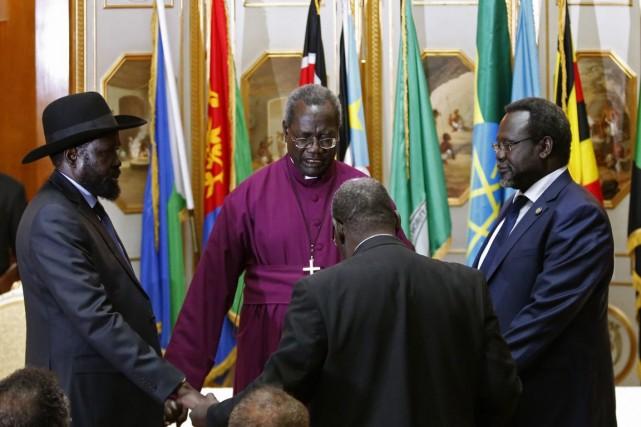 Le leader des rebelles du Soudan du Sud... (Photo Goran Tomasevic, Reuters)