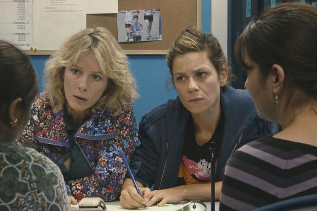 Le film Polisse est interprété par Marina Foïs... (Photo fournie par les Films Séville)
