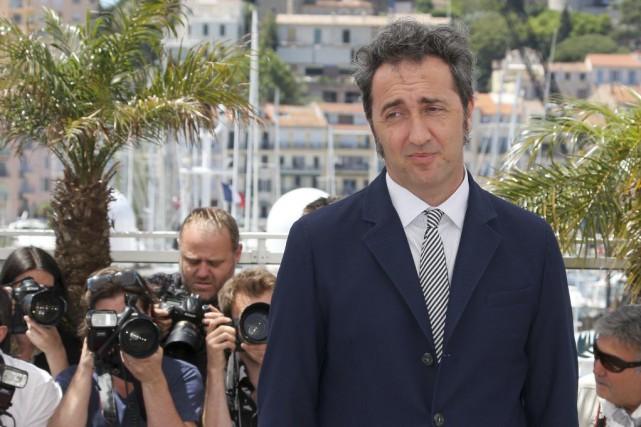 Le réalisateur italienPaolo Sorrentino,d'Italie, a présenté à Cannes... (PHOTO LOIC VENANCE, ARCHIVES AFP)