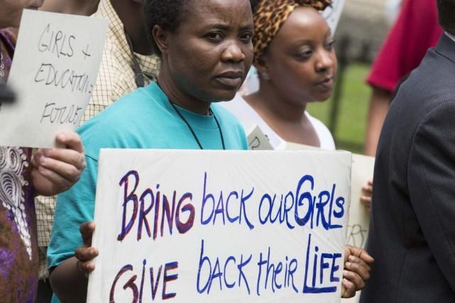 Plus de 200 collégiennes sont disparues au Nigeria... (PHOTO JOSHUA ROBERTS, REUTERS)