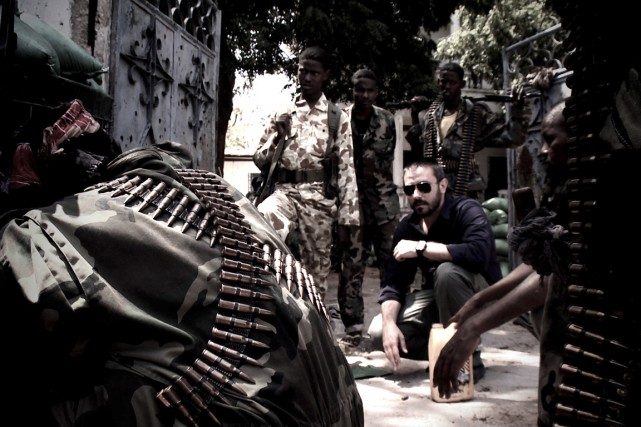 Jeremy Scahill dans le documentaire Dirty Wars, l'adaptation... (Photo Richard Rowley, The New York Times)