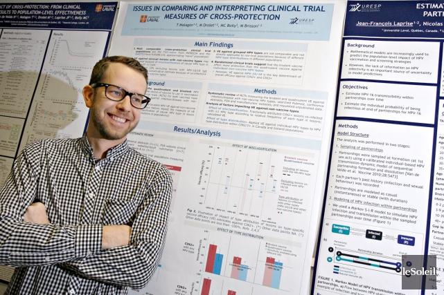 Marc Brisson, professeur d'épidémiologie à la Faculté de... (Photo Le Soleil, Pascal Ratthé)